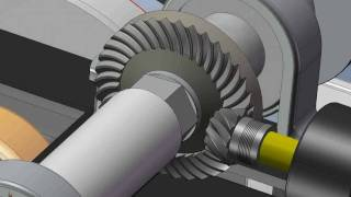Engrenagens Girando No SolidWorks Gear-Mate