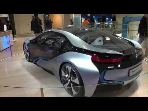BMW i8 Concept   Der Sportwagen der Zukunft, BMW i8 Concept Der Sportwagen der Zukunft BMW Museum