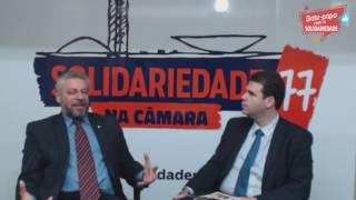 Aureo (RJ) e Laudivio Carvalho (MG) comentam a atuação do Solidariedade na Câmara