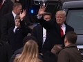 Trump Embraces Tradition, Protesters Clash