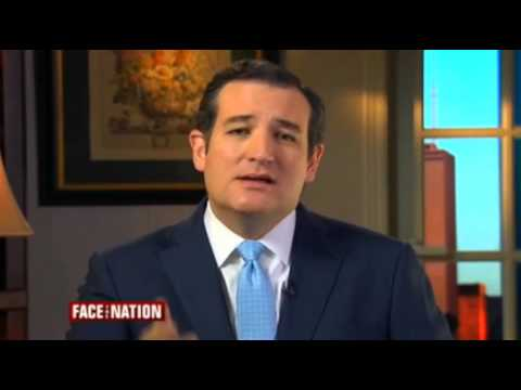 Sen  Ted Cruz on Face the Nation