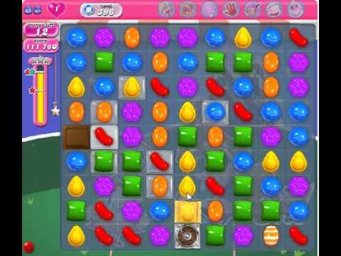 How to beat Candy Crush Saga Level 396 - 3 Stars - No Boosters - 133