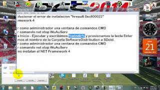 Solucion De Error Hresult 0xc8000222 Del Net Framework4