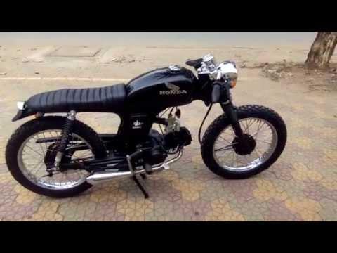 Ver.84 Honda 67 Cafe Racer 110cc ( Test Pô )