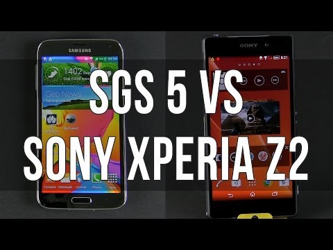 Samsung Galaxy S5 vs Sony Xperia Z2 full comparison