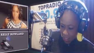 Kelly Rowland learns to speak Yoruba while on Top Of The Morning With Tosyn Bucknor