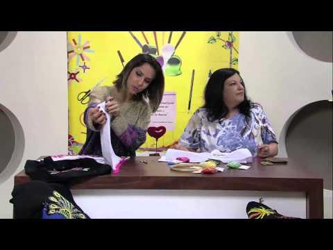 Mulher.com 14/05/2013 Valquiria Campanelli - Bordado mexicano  Parte 1/2