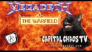 MEGADETH - Devil's Island @ Warfield Theater 12/18/13