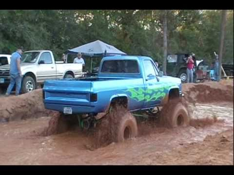 BIG BLOCK CHEVY ON ALCOHOL STUCK AT SHORTY'S MUD PIT