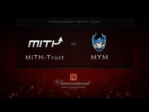 Dota 2 International - Group Stage - MiTH-Trust vs MYM