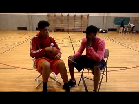 Datswzup Basketball Camp - Interview with Julian Dean 9-7-2013