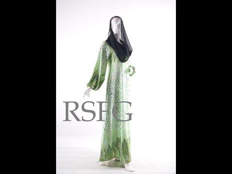 Jubah Dress Spandex Terbaru Dari R.S.F.G