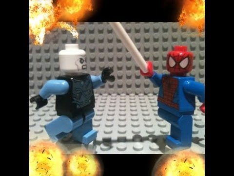 The amazing spiderman 2 trailer in lego youtube - Lego the amazing spider man 3 ...
