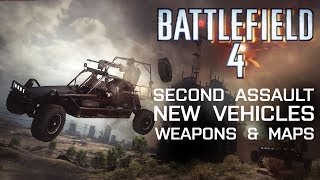Battlefield 4 Second Assault, New Vehicles, Weapons And