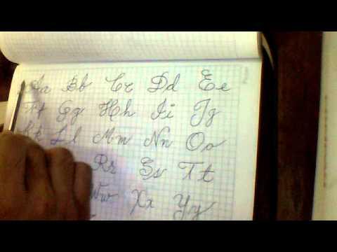 Abecedario letras cursivas chidas - Imagui