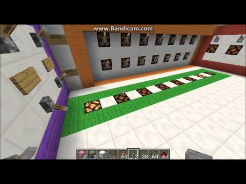 Computational unit in MINECRAFT (HD)