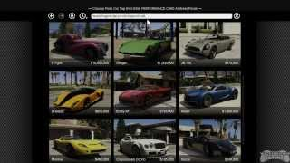GTA 5 Buying A Garage And Vehicles