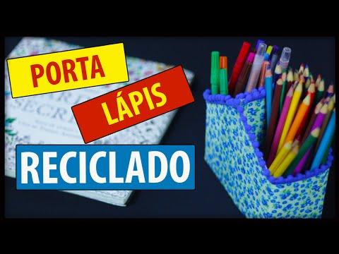 POLYFORT EXTRA - DIY: Porta lápis reciclado