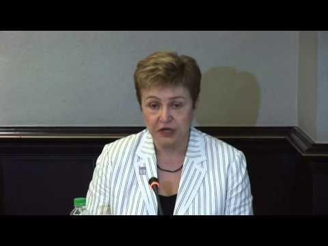 Commissioner Georgieva at ASEM Disaster Risk Reduction Conference