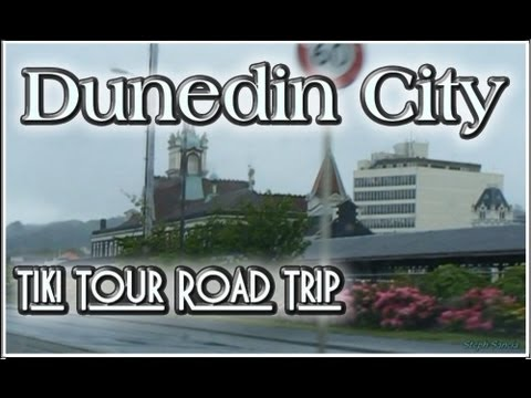 Dunedin City NZ - Kiwi Travel Road Trip Tour Otago South Island New Zealand