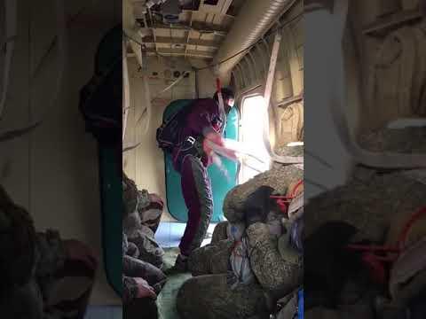 Курсанты ВПК «Единство» совершили прыжки с парашютом