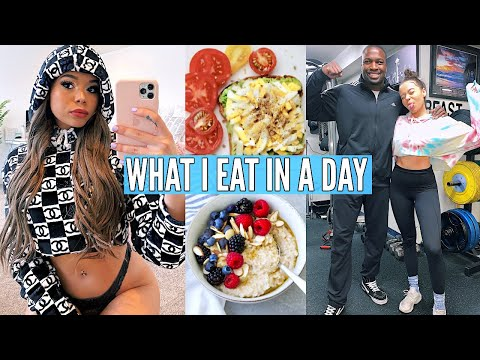 What I Eat In A Day (how i got abs) & Fitness Routine! | Krazyrayray