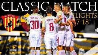 Benevento 0-4 Roma   CLASSIC MATCH HIGHLIGHTS 2017-18