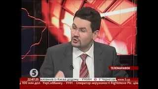 Патріарх Філарет на 5 каналі - 25.01.14 / #Євромайдан