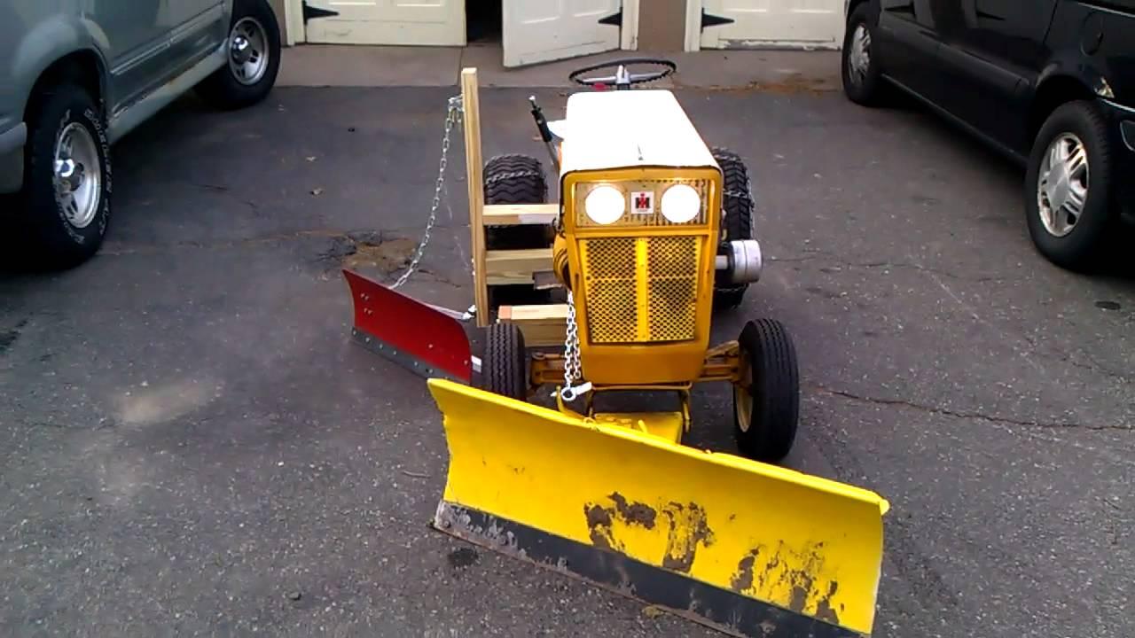 Tractor Snow Wing Blades : Cub cadet snow plow blade car interior design