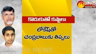 As Lokesh Flutters on Open Meetings, CM Chandrababu Woes I..