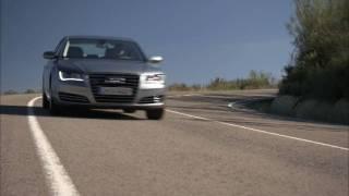 Audi A8 New 2010 / Премьера нового Ауди А8