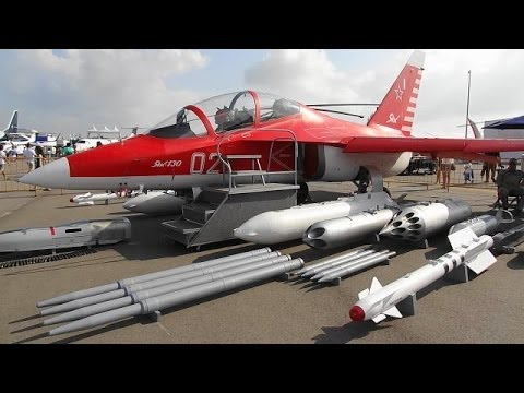 Singapore Airshow 2014 Yak-130 Static Display