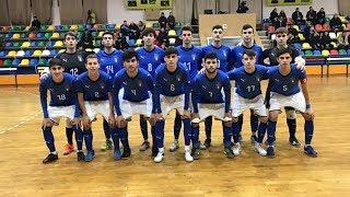 Highlights U19 Futsal: Ucraina-Italia 1-1 (18 dicembre 2018)