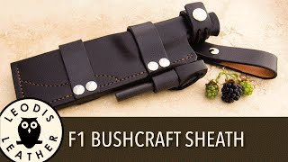 Cooking | how to make a bushcraft sheath for an f1 sty | how to make a bushcraft sheath for an f1 sty