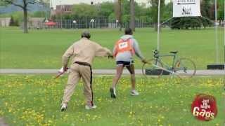 Görme Engelli Yarış Şakası
