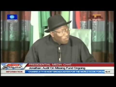 'If You Steal $20bn Today, America Will Know'-- Jonathan