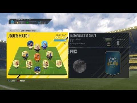 FIFA 18/ SBC FUT 17, DRAFT SUR FIFA 17  1/2