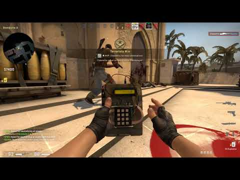 CS:GO Competitive Match#43 Mirage GamePlay