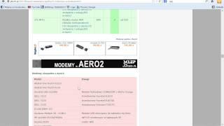 Co Powinieneś Wiedzieć O Aero2 Cz.4 Jaki Modem Wybrać Do
