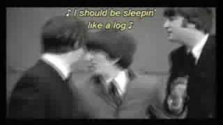 The Beatles A Hard Days Night Lyrics