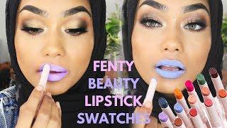 Fenty Beauty Mattemoiselle Lipstick Swatch | BEST LIPSTICK EVER ?