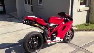 2013 Ducati 848 Evo with Carbon Akrapovic
