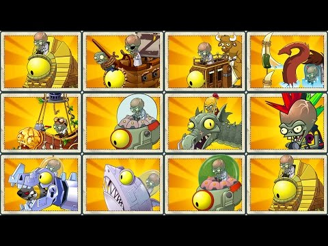 Plants vs Zombies 2 Final Boss: ALL PLANTS MAX LEVEL! vs ALL ZOMBOT!