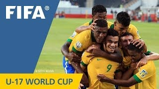 Brazil buzz in for six goals