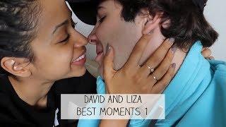 Liza and David Best Moments 1