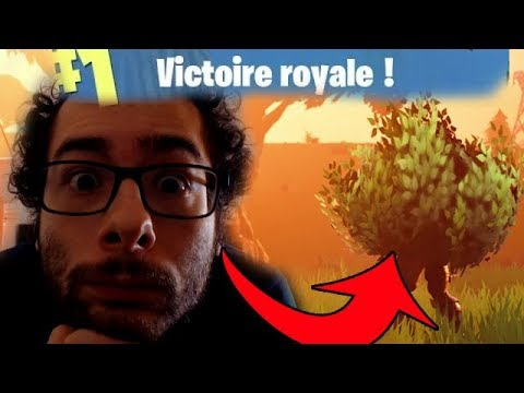 TOP 1 : ON GAGNE GRÂCE AU BUISSON ! FORTNITE BATTLEROYALE !