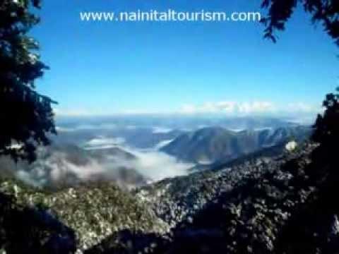 Himalayas from Nainital - Nainital Snowfall 2014 - Nainital Tourism - Nainital Tour