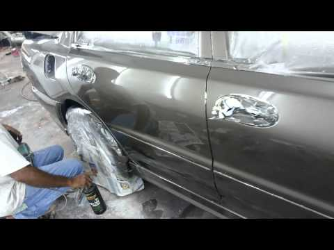 car painting spray kereta in ampang, Friends car painting, Tasik permai...