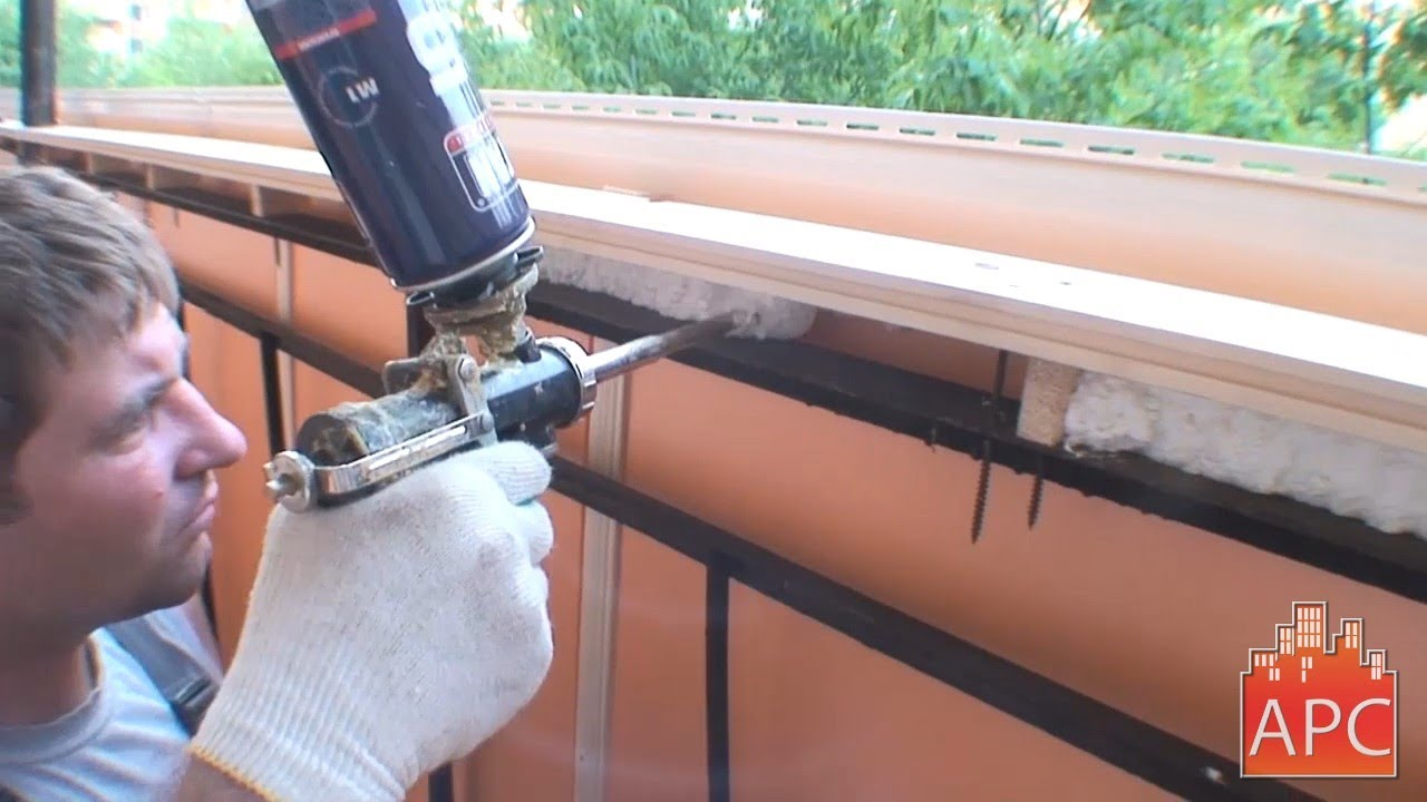 Утепление балконов и лоджий (на фото и видео), цены от произ.
