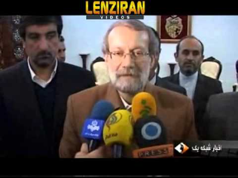 Speaker of Majlis َAli Larijani attend constitution ceremony in Tunisia